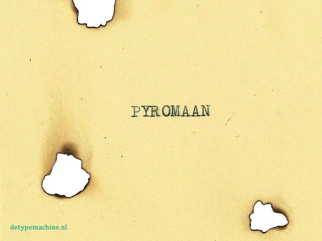 Pyromaan